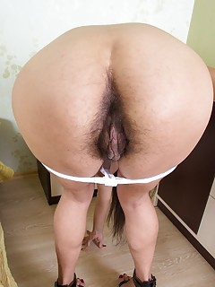 Fat black bbw creampie