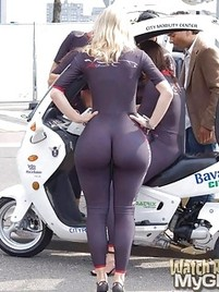 Huge Asses In Spandex